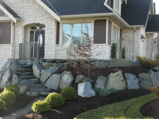 Landscape Blocks Abbotsford : Retaining walls