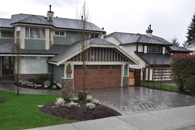 Landscape Blocks Abbotsford : Abbotsford driveways pavers and pour services landscaping
