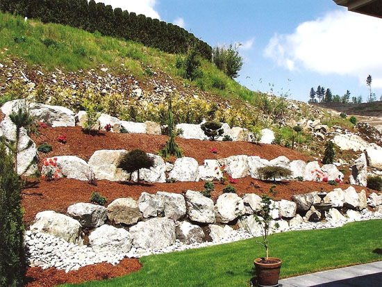 Mission landscaping business landscaper and excavating for Landscaping rocks vancouver