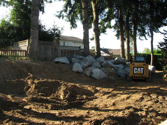 Retaining walls abbotsford landscaping and excavating for Landscaping rocks vancouver wa