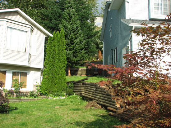 Landscape Blocks Abbotsford : Retaining walls abbotsford landscaping and excavating located in