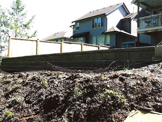 Landscape Ties Chilliwack : Retaining walls abbotsford landscaping and excavating