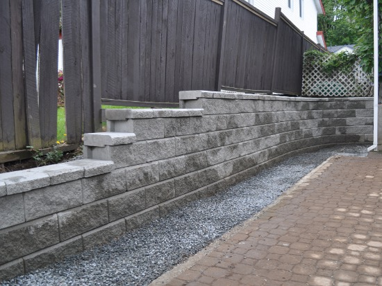 Landscape Blocks Abbotsford : Chilliwack retaining walls